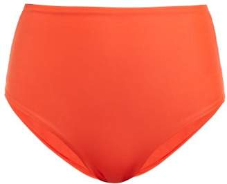 JADE SWIM Bound High Rise Bikini Briefs - Womens - Red