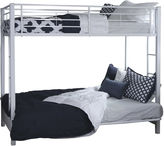 Asstd National Brand Pearson Twin Bunk Bed Over Futon