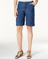 Style&Co. Style & Co. Cargo Bermuda Shorts, Only at Macy's