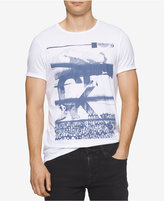 Calvin Klein Jeans Men's Pixel Mountains Graphic-Print T-Shirt