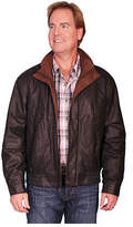 Scully Men's Featherlite Jacket w/ Double Collar 909 - Black Featherlite Western Clothing