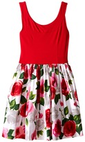 fiveloaves twofish Bouquet Wrap Dress (Little Kids/Big Kids)