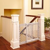 North States Baby Safety Gate Walk Thru Easy Step Toddler Infant Dog Fence Pet Child Stairway