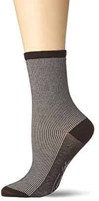 Tommy Hilfiger TH Women Hairline Sock 2P (Black 200), (Pack of 2)