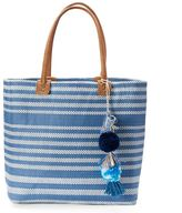 SONOMA Goods for LifeTM Striped Seagrass Tote