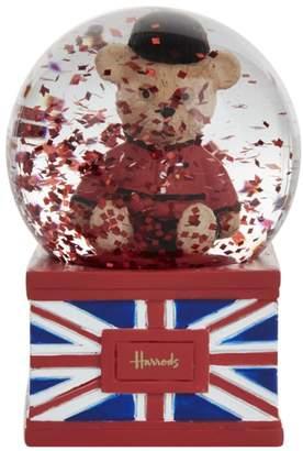 Harrods Mini Guardsman Bear Snowglobe