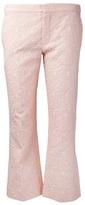 Chloé floral jacquard trouser
