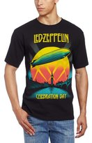 FEA Men's Led Zeppelin Celebration Day Mens T-Shirt, Black, X-Large