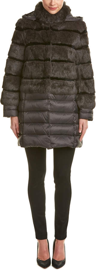 Dawn Levy Talulla Quilted Down Coat