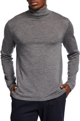 Vince Men's Wool-Cashmere Turtleneck Sweater