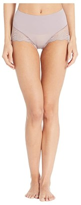 Spanx Undie-tectable Lace Hi-Hipster Panty (Powder) Women's Underwear