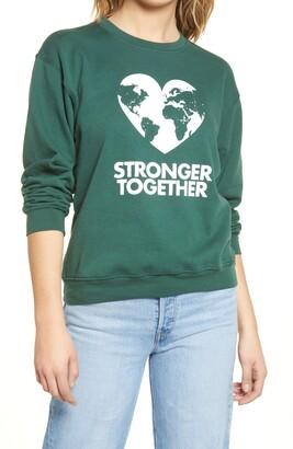 Sub Urban Riot Stronger Together Graphic Sweatshirt
