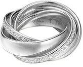 JOOP! Joop Women's Ring Stainless Steel Glass JPRG10631A1 56 cm silver / white