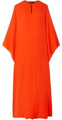 Reem Acra Silk-georgette Midi Dress