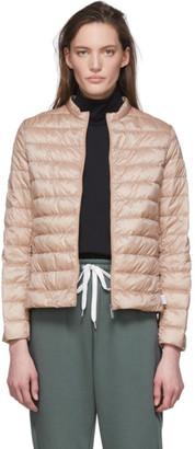 MAX MARA LEISURE Pink Down Soprano Jacket