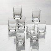 Crate & Barrel Bitty Bite Tall Glasses, Set of 8