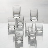 Crate & Barrel Set of 8 Bitty Bite Tall Glasses
