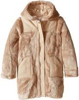 Chloe Kids Hooded Faux Fur Coat (Little Kids/Big Kids)