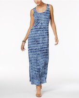 Style&Co. Style & Co Petite Striped Maxi Dress, Only at Macy's