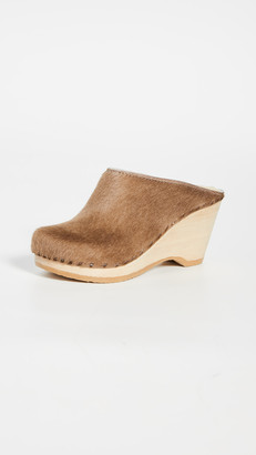 NO.6 STORE New School Wedge Clogs