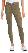 Design Lab Lord & Taylor Utility Cargo Skinny Pants
