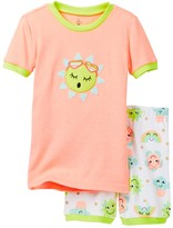 Petit Lem Sunny Sunshine Pajama - 2-Piece Set (Toddler & Little Girls)