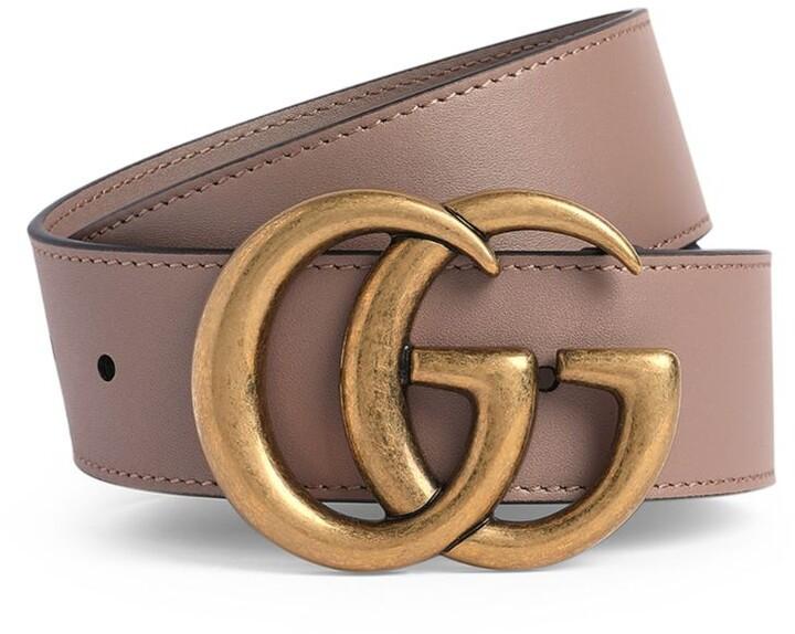 Gucci Leather Marmont Belt (Size 75)