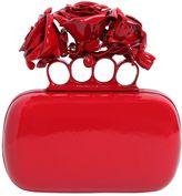 Alexander McQueen Roses Ornament Knuckle Box Clutch