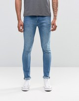 Cheap Monday Jean Tight Skinny Fit Whispy Blue Wash