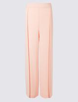 Per Una Side Split Wide Leg Trousers