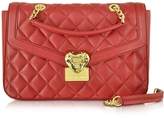 Love Moschino Heart Quilted Eco Leather Shoulder Bag