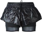 adidas by Stella McCartney layered fitness shorts - women - Polyester - S