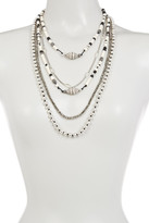 Lucky Brand Beaded Statement Necklace
