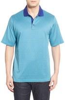 Bugatchi Men's Short Sleeve Cotton Polo