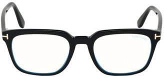 Tom Ford 53MM Square Blue Block Optical Glasses