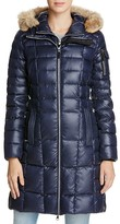 Andrew Marc Lexi Fur Trim Puffer Coat