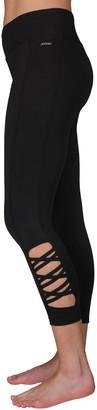 Jockey Women's Sport Modern Weave Midrise Capri Leggings