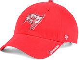 '47 Women's Tampa Bay Buccaneers Glitter Logo Clean Up Cap