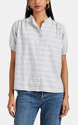 Ace&Jig Women's Aidan Striped Cotton Button-Front Top