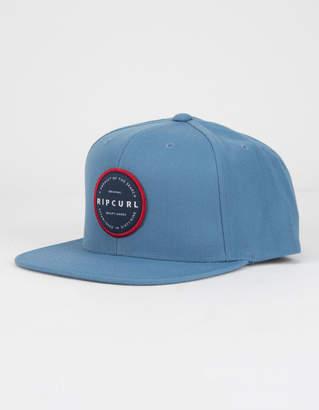 Rip Curl Mission Badge Navy Mens Snapback Hat