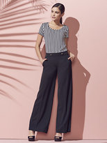 New York & Co. Tab-Front Wide-Leg Pant