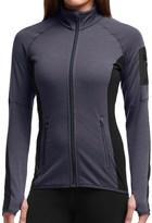Icebreaker Atom Jacket - Merino Wool, Full Zip (For Women)