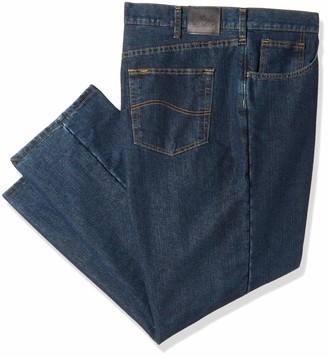 Lee Men's Big-Tall Relaxed Fit Straight Leg Jean