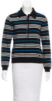 Burberry Merino Wool Polo Knit