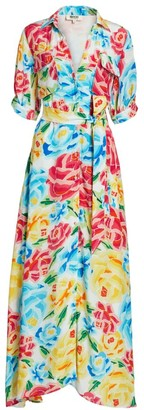 All Things Mochi Marie Silk Maxi Dress