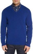 Nordstrom Cashmere V-Neck Sweater (Regular & Tall)