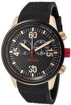Redline Red Line RL - 10101-Men's Watch Quartz Chronograph Black Rubber Strap