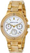 Kenneth Jay Lane Women's 2140 2100 Series Analog Display Japanese Quartz Gold Watch