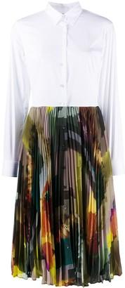Sara Roka Tosca pleated shirt dress
