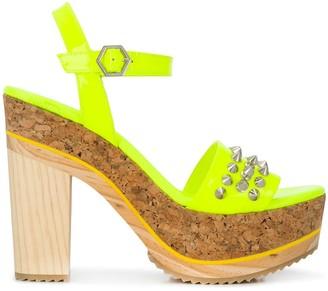 Philipp Plein High-Heeled Sandals